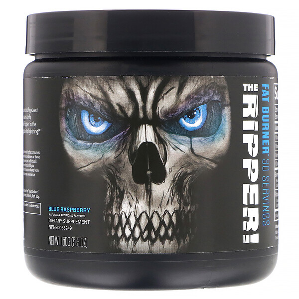 The Ripper, Fat Burner, Blue Raspberry, 5.3 oz (150 g)