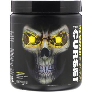 JNX Sports, The Curse, Pre Workout, Lemon Rush, 8.8 oz (250 g)