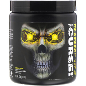 Кобра Лэбс, The Curse, Pre Workout, Lemon Rush, 8.8 oz (250 g) отзывы покупателей
