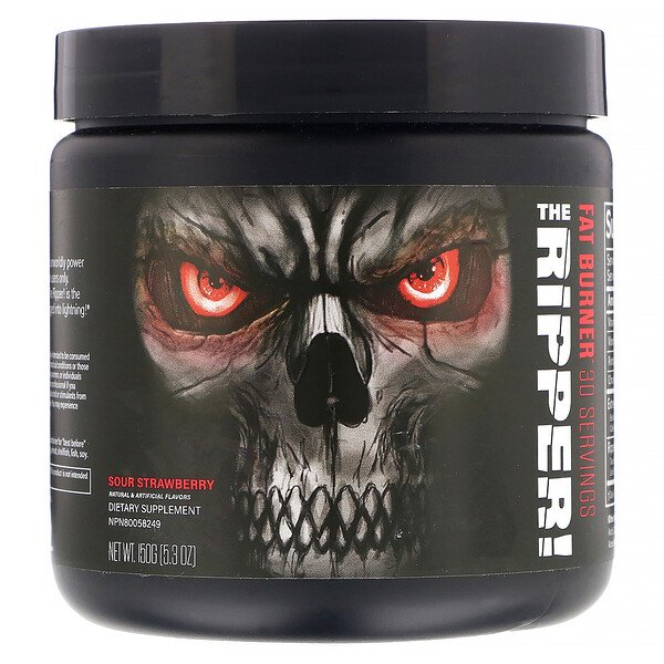 The Ripper, Fat Burner, Sour Strawberry, 5.3 oz (150 g)