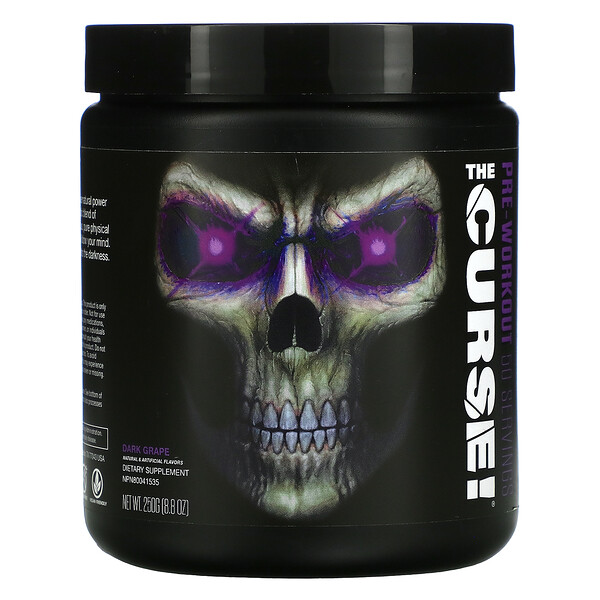 The Curse, Pre-Workout, Dark Grape, 8.8 oz ( 250 g)