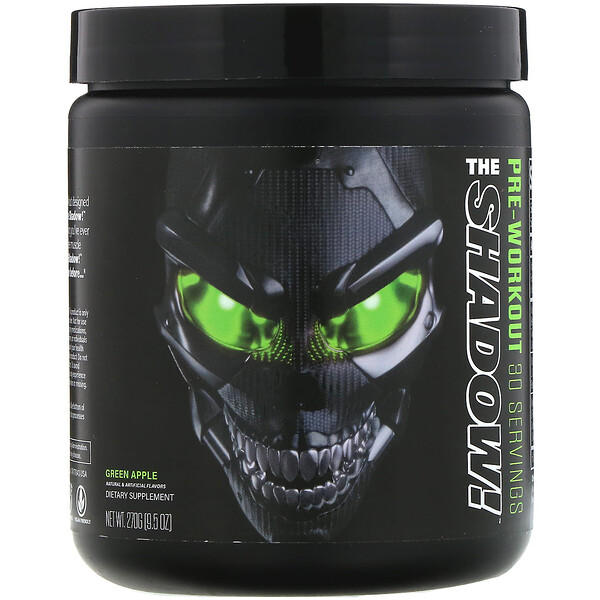 The Shadow, Pre-Workout, Green Apple, 9.5 oz (270 g)