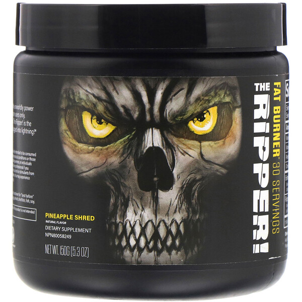 Cobra Labs, The Ripper, Fat Burner, Pineapple Shred, 5.3 oz (150 g)