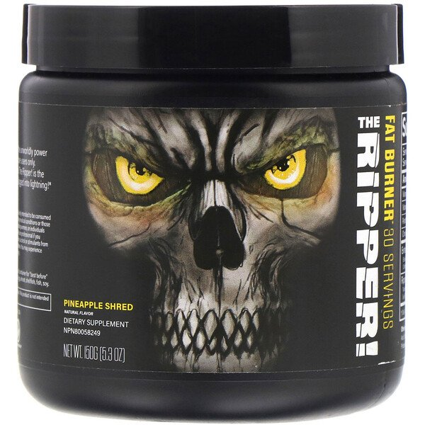 JNX Sports, The Ripper, Quemador de grasas, Piña triturada, 150 g (5,3 oz)