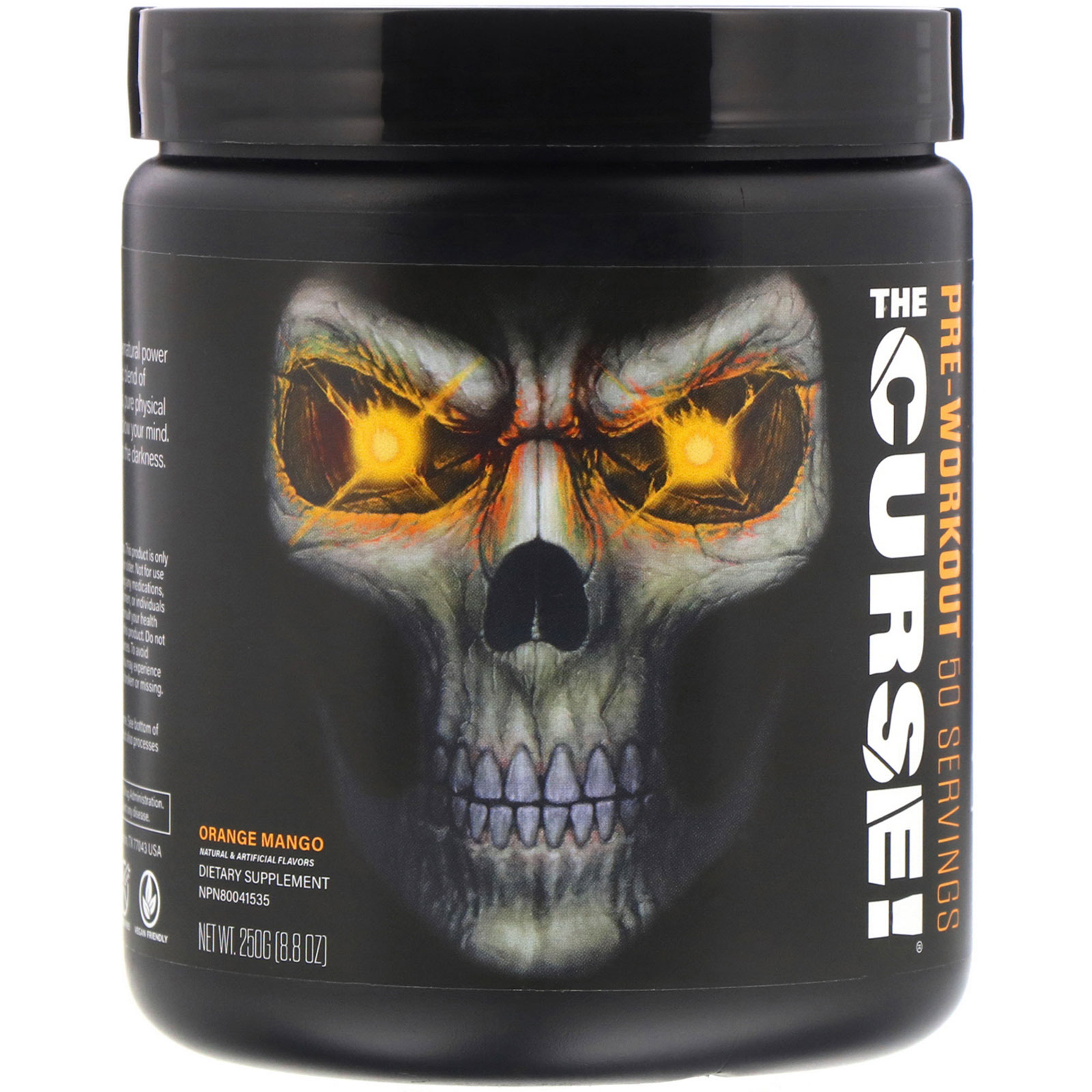 JNX Sports, The Curse, Pre Workout - Ultimate Sup