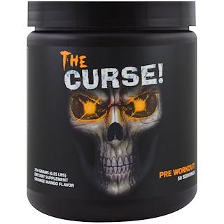Cobra Labs, The Curse, Pre Workout, Orange Mango Flavor, 0.55 lbs (250 g)