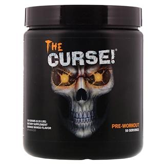 Cobra Labs, The Curse, предтренировочный комплекс со вкусом апельсина и манго, 0,55 фунта (250 г)