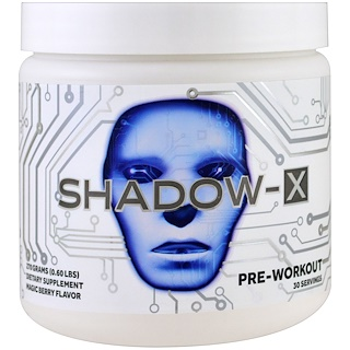 Cobra Labs, Shadow-X Pre-Workout, Magic Berry Flavor, 0.60 lbs (270 g)