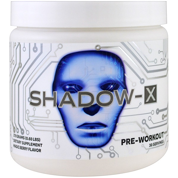 JNX Sports, Shadow-X Pre-Workout, Magic Berry Flavor, 0.60 lbs (270 g) (Discontinued Item)