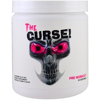 Cobra Labs, The Curse, Pre Workout, Tropical Storm, 0.55 lbs (250 g)