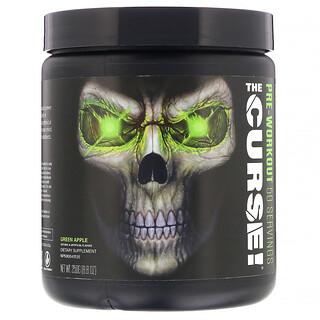 JNX Sports, The Curse, Pre-Workout, Green Apple, 8.8 oz (250 g)