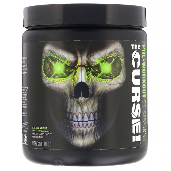 The Curse, Pre-Workout, Green Apple, 8.8 oz (250 g)