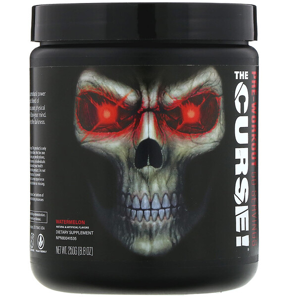 JNX Sports, The Curse, Pre-Workout, Watermelon, 8.8 oz (250 g)