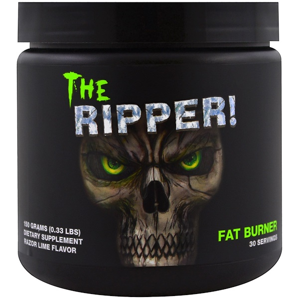Cobra Labs, The Ripper, Fat Burner, Razor Lime , 0.33 lbs (150 g)