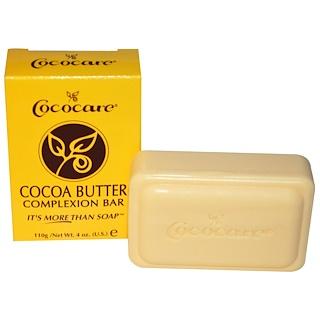 Cococare, Savonnette pour le teint au beurre de cacao, 4 oz (110 g)
