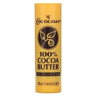 Cococare, 100% Cocoa Butter Stick, 1 oz (28 g)
