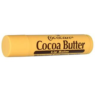 Cococare, Бальзам для губ с маслом какао, 0.15 унций (4.2 г)