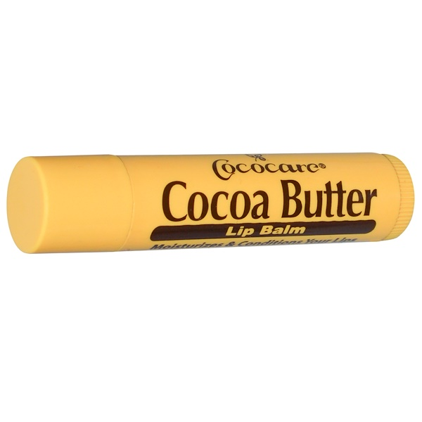 Cococare, Cocoa Butter Lip Balm, .15 oz (4.2 g) (Discontinued Item)