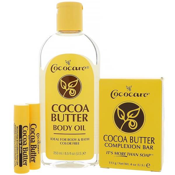 Cococare, Cocoa Butter Gift Bag, 4 Pieces (Discontinued Item)