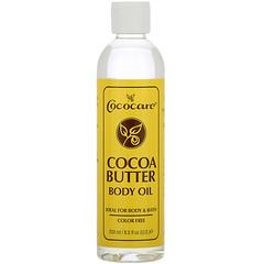 Cococare, 可可脂身體油,8.5 盎司(250 毫升)