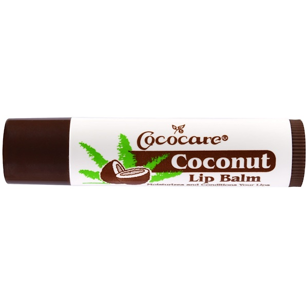 Cococare, Coconut Lip Balm, .15 oz (4.2 g) (Discontinued Item)