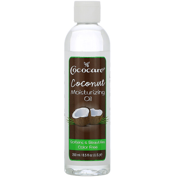 Coconut Moisturizing Oil, 9 fl oz (250 ml)