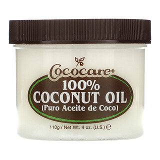Cococare, زيت جوز الهند 100%، 4 أوقية (110 جم)