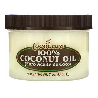 Cococare, 100% Coconut Oil, 7 oz (198 g)
