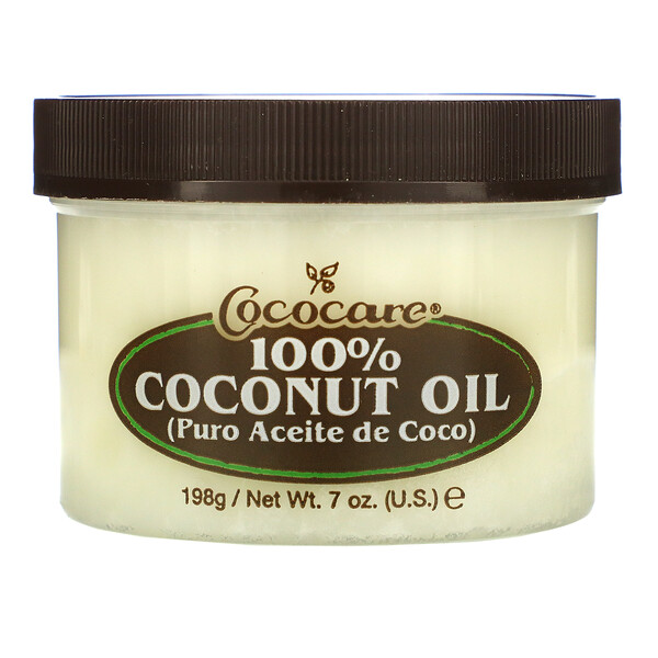 100% Coconut Oil, 7 oz (198 g)
