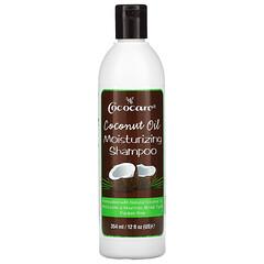 Cococare, 椰子油保濕洗髮水,12液盎司(354毫升)
