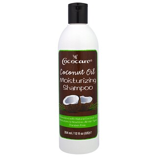 Cococare, Coconut Oil Moisturizing Shampoo, 12 fl oz (354 ml)