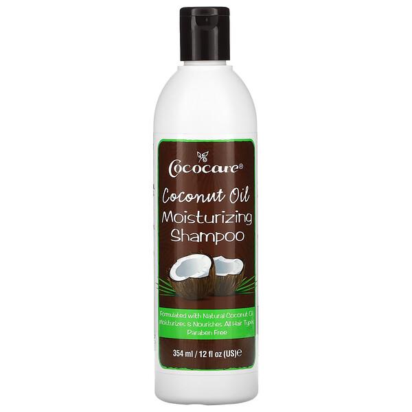 椰子油保濕洗髮水,12液盎司(354毫升)