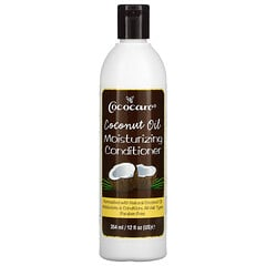 Cococare, 椰子油,保濕護髮素,12 液量盎司(354 毫升)