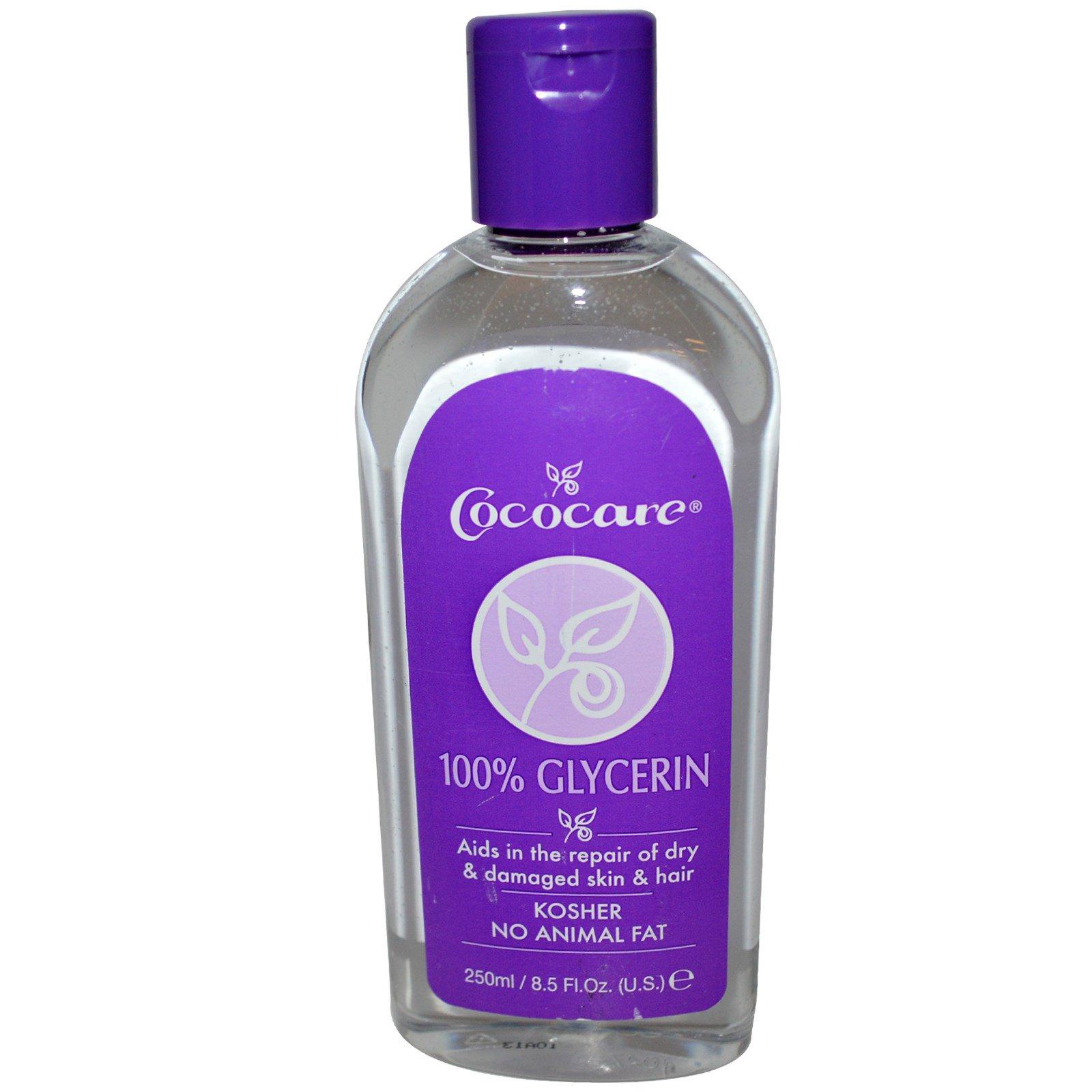 Cococare, 100% глицерин, 250 мл (8,5 жидких унций)
