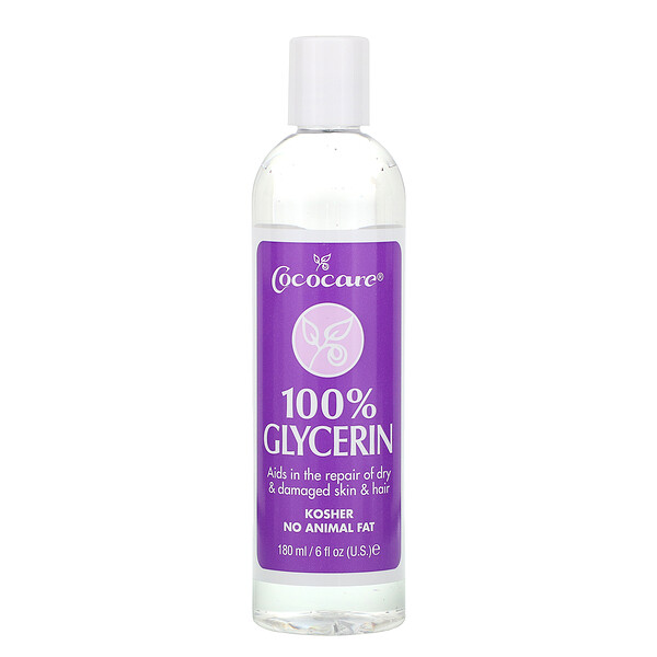 100% Glycerin, 6 fl oz (180 ml)