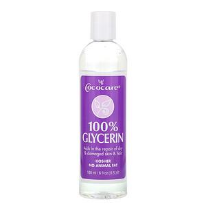 Cococare, 100% Glycerin, 6 fl oz (180 ml)