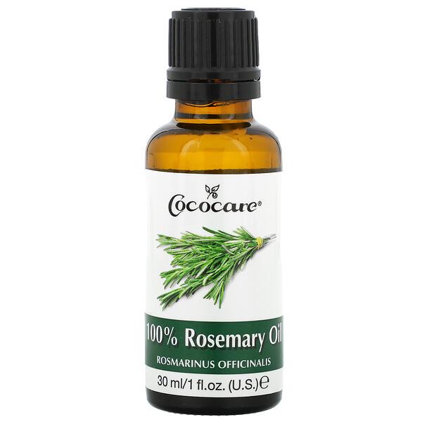100% 로즈마리 오일, 1 액량 온스 (30 ml)