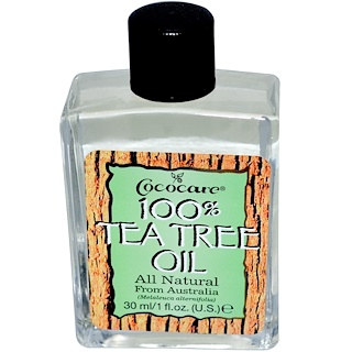 Cococare, 100% Tea Tree Oil, 1 fl oz (30 ml)