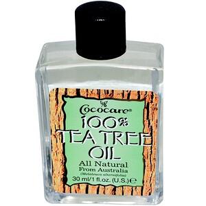Кококер, 100% Tea Tree Oil, 1 fl oz (30 ml) отзывы покупателей
