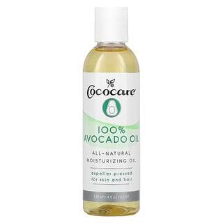 Cococare, 全鱷梨油,4 液量盎司(118 毫升)