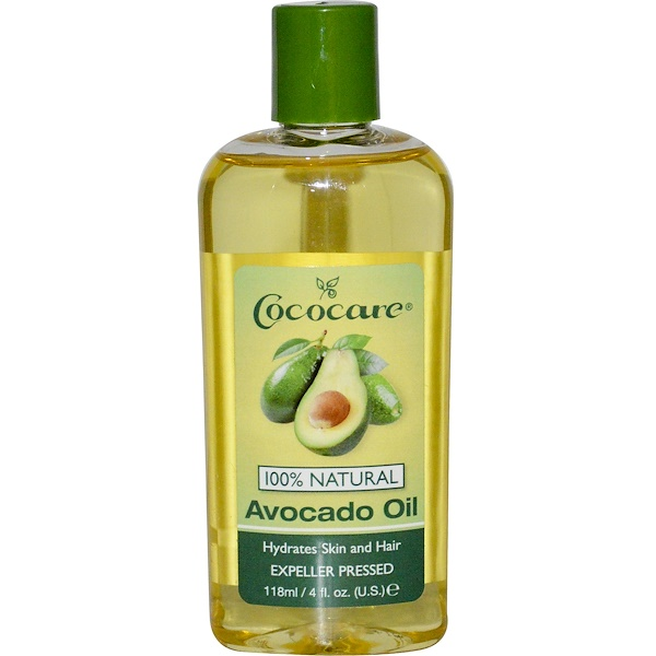 Cococare, Avocado Oil, 4 fl oz (118 ml)