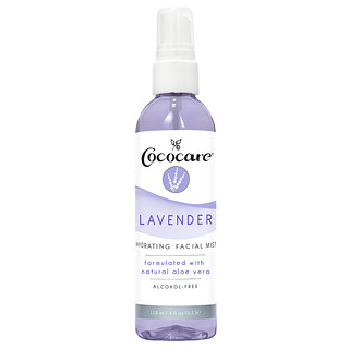Cococare, Hydrating Facial Mist, Lavender, 4 fl oz (118 ml)