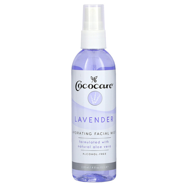 Hydrating Facial Mist, Lavender, 4 fl oz (118 ml)