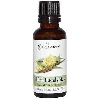 Cococare, 100% масло эвкалипта, 1 жидкая унция (30 мл)