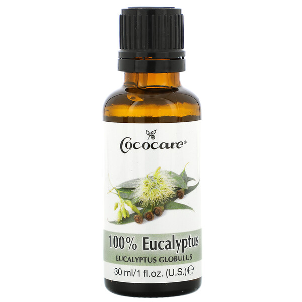 100% Eucalyptus Oil, 1 fl oz (30 ml)