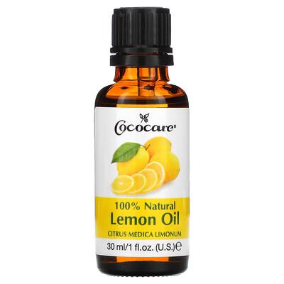 Cococare Citrus Medica Limonum, 100% натуральное лимонное масло, 30мл (1жидк. унция)