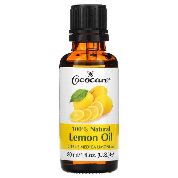 Aceite 100% de limón natural, Citrus medica limonum, 30ml (1oz.líq.)