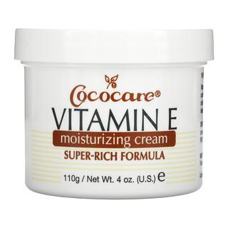 Cococare, Vitamin E Moisturizing Cream, 4 oz (110 g)