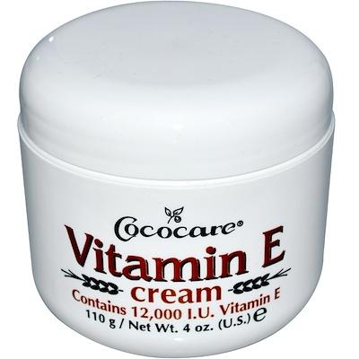 Купить Крем с витамином Е, 12 000 МЕ, 110 г (4 унции)