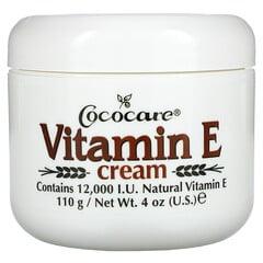 Cococare, 維生素E霜,12,000國際單位,4盎司(110g)